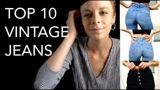 Top 10 Vintage Jeans / How I Style Denim