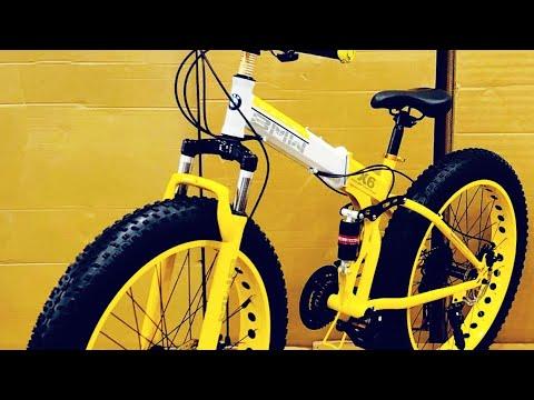 bmw X6 fat tyre bike shorts unboxing || fat bike || Foldable cycle ||prime Wheels|| fat bike review