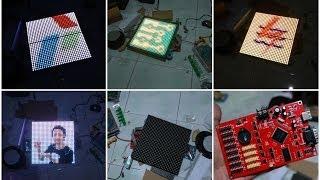 Cara Menampilkan Foto di Led matrix berwarna
