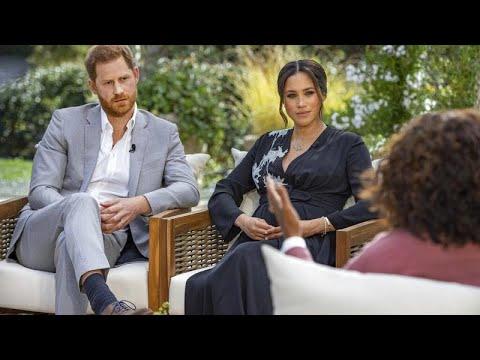 """""""No quería seguir viviendo"""": La reveladora entrevista de Meghan Markle y el príncipe Enrique"""