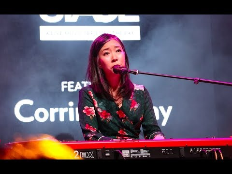 [HD] Corrinne May - MBS Open Stage Performance in Singapore (9 Dec 2017)