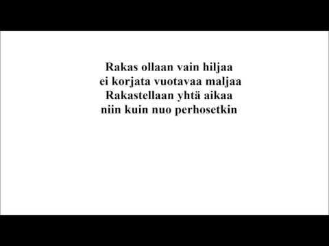 Haloo Helsinki! - Rakas, Instrumental Cover/Karaoke