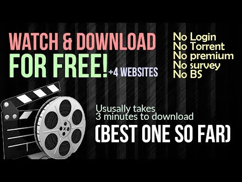 BEST WEBSITE FOR Watching & Downloading ANY Movies FOR FREE! No Torrent & No Login  2018