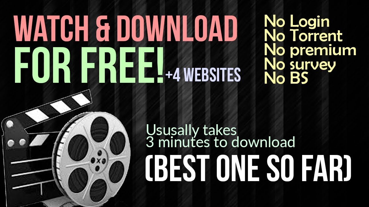 Download BEST WEBSITE FOR Watching & Downloading ANY movies FOR FREE! No torrent & No Login  2018