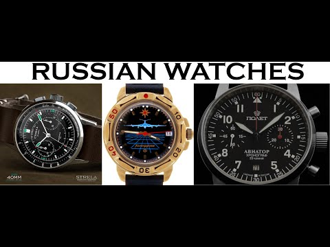 Top 5 Russian Watch Brands