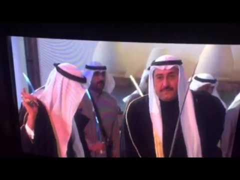 مشاركة الشيخ فيصل الحمود في افتتاح بيت العثمان التابع لوزارة الأعلام