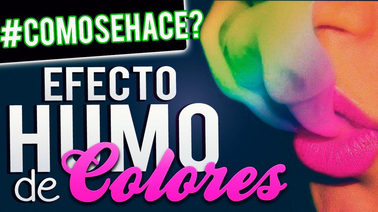 Como hacer pintar humo de colores tutorial photoshop for Colores para pintar
