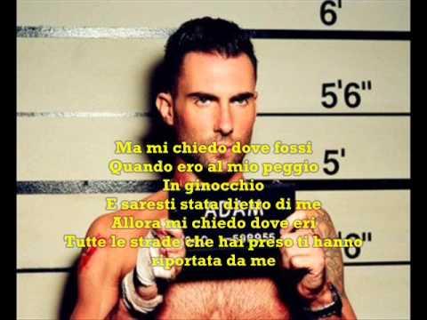 Maroon 5- Maps Traduzione Italiana