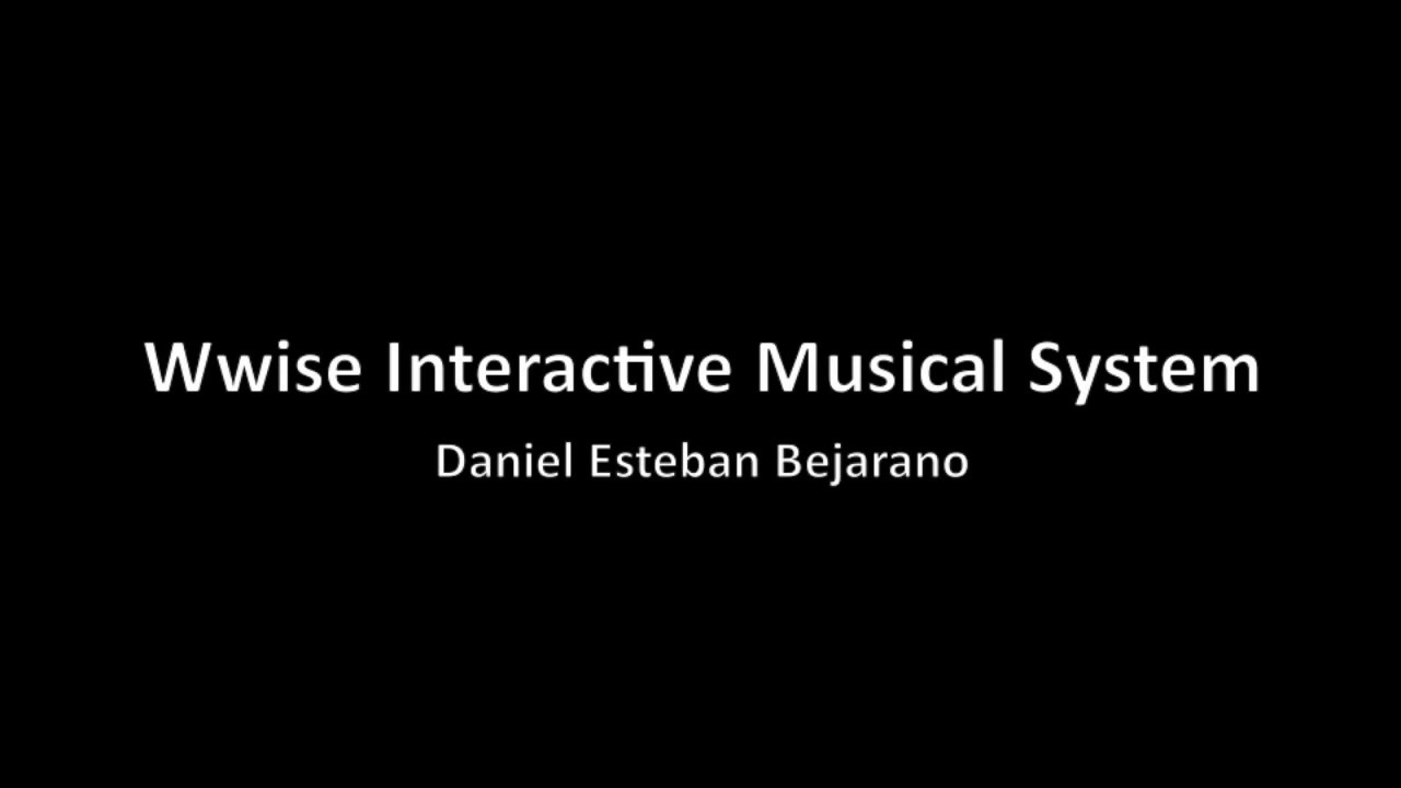 Wwise Interactive Music