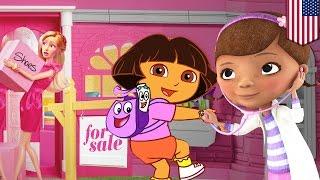 Doc McStuffins vs Dora the Explorer: billion dollar ethnic cartoons replace Barbie and He-Man