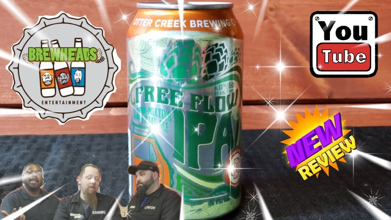 Craft Beer Review Free Flow Ipa Otter Creek Brewing Youtube