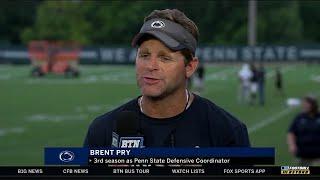 BTN Bus Tour: Penn State DC Brent Pry | Big Ten Football