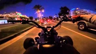 Yamaha Banshee 350 Pro Circuit at Night GoPro Onboard #2