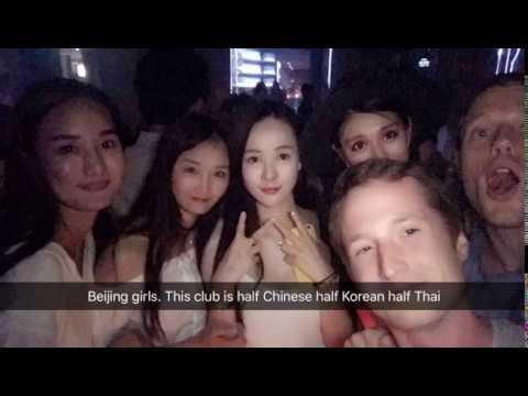 6/22/17🇹🇭Thirsty Thursday: Bangkok Rooftop bars, W Market, Onyx Club, Sugar HipHop clubs Nightlife