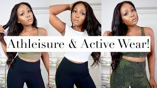 ATHLEISURE & WORKOUT Try On Haul ft LORNA JANE | 2019 thumbnail