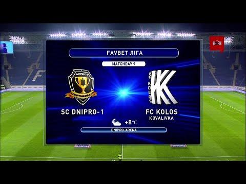 Dnipro-1 Kolos Kovalyovka Goals And Highlights