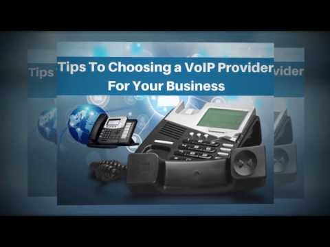 5 Tips To Choosing a VoIP Provider For Your Business