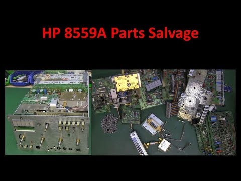 HP 8559A Spectrum Analyser Parts Salvage