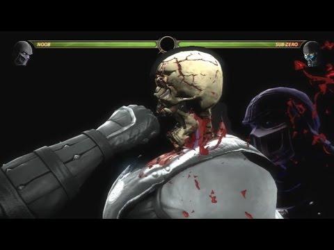 Mortal Kombat 9 - All X-Ray Attacks