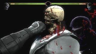 Mortal Kombat 9 All X Ray Attacks