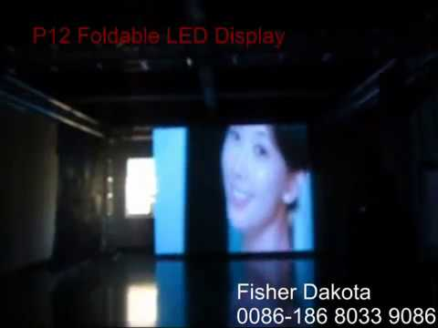 """""""12mm pitch"""" led stage video wall E-mail: flexible.led.display.screen@gmail.com"""