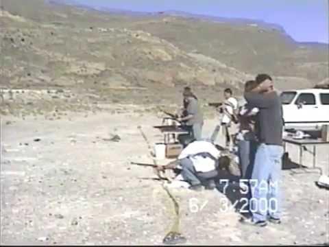 Shooting Guns in Desert June 3, 2000