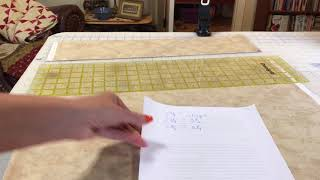 Accurate strip piecing for quilt tops