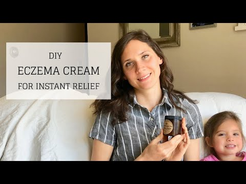 DIY Organic Eczema Treatment Cream | Relief for Itchy Skin | Bumblebee Apothecary