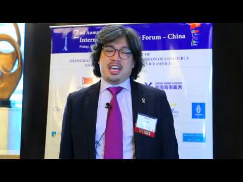 2017 2nd Annual International Shipping Forum - China - Interview with Mr. James Tong