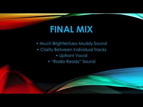 Audio Mixing—Comparison Demonstration