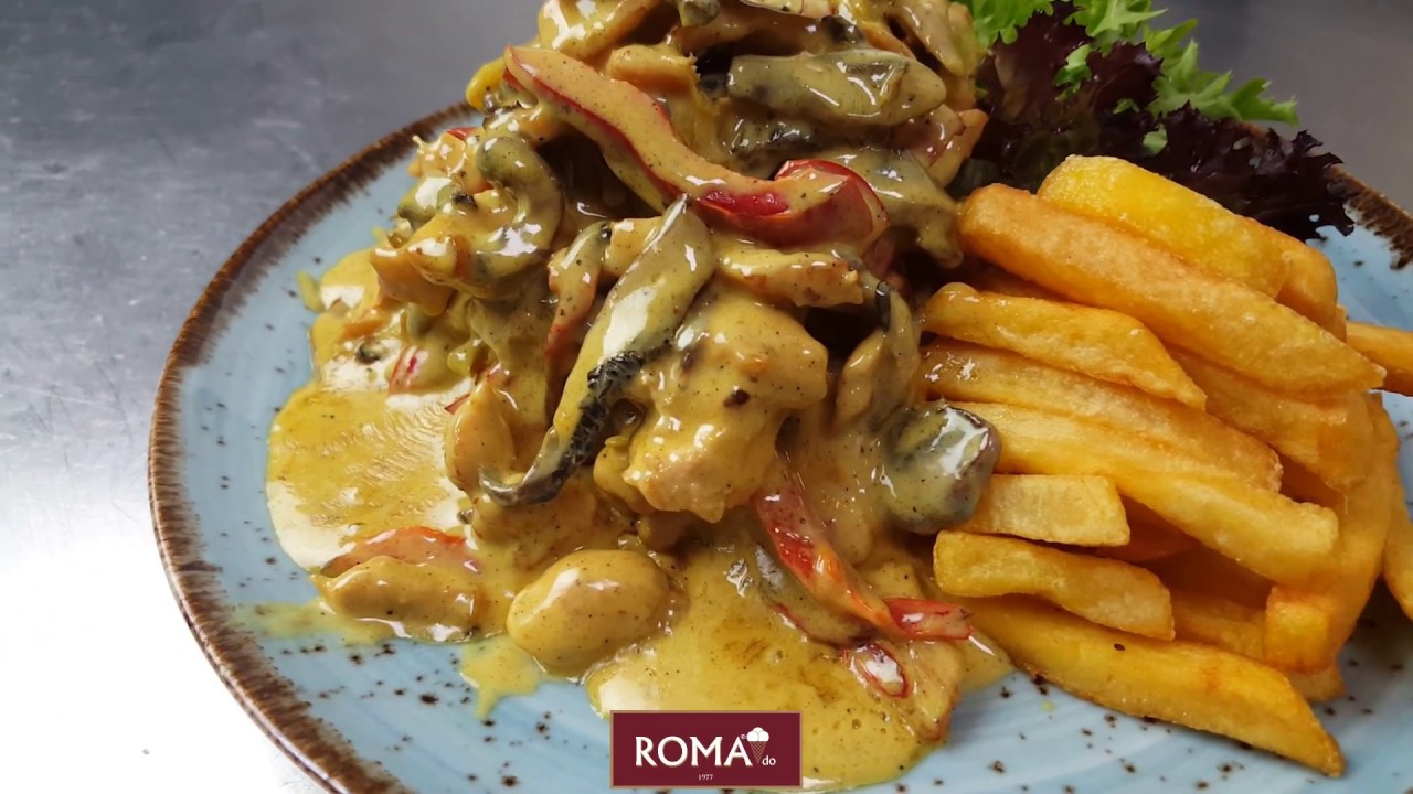 Roma Dondurma - Köri Soslu Tavuk Yemek Tarifi