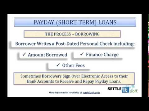 Avoid Payday Loans if you are in financial distress -  SettleiTsoft® is a free, Debt settlement App