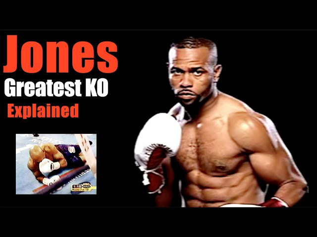 Roy Jones Jr.'s Greatest KO Explained - Brilliant Exchanges