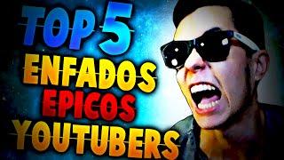 TOP 5 MAYORES CABREOS DE YOUTUBERS 2 |LOS MAS INCREIBLES!!! | DJMARIIO, DROSS...