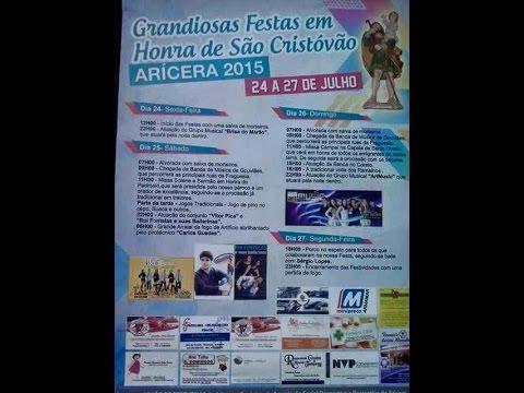 Programa Festa Em Aricera 2015