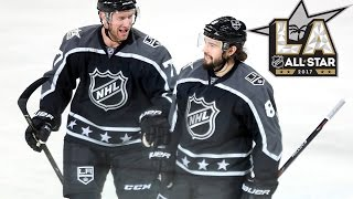 Central vs Pacific | 2017 NHL All-Star Game | Highlights | Jan. 29, 2017 [HD]