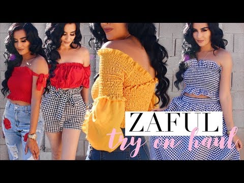 SPRING Outfit Ideas! Ft. Zaful   TRY ON HAUL