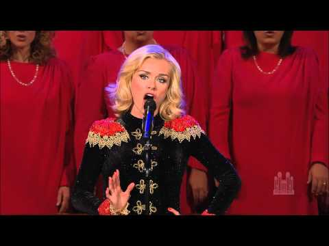 Katherine Jenkins and the Mormon Tabernacle Choir sing