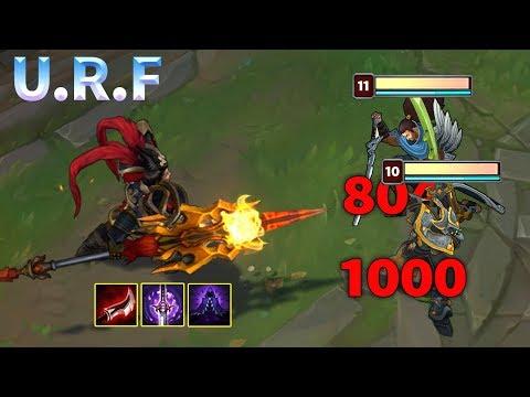 10 Minutes of URF Madness 2019 - League of Legends thumbnail