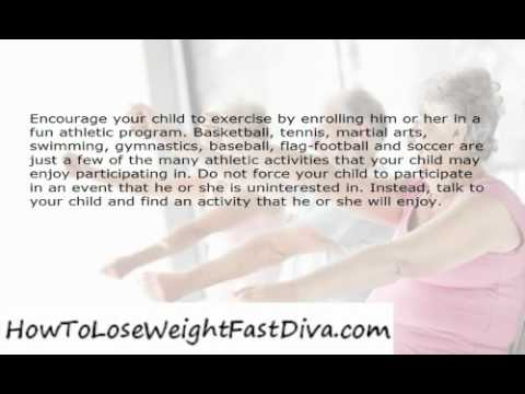 How To Help Your Child Lose Weight and Get Healthy
