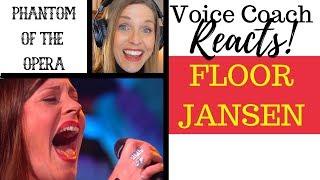"""Voice Coach Reacts to Floor Jansen & Henk Poort Singing """"Phantom of the Opera"""" on BESTE ZANGERS"""