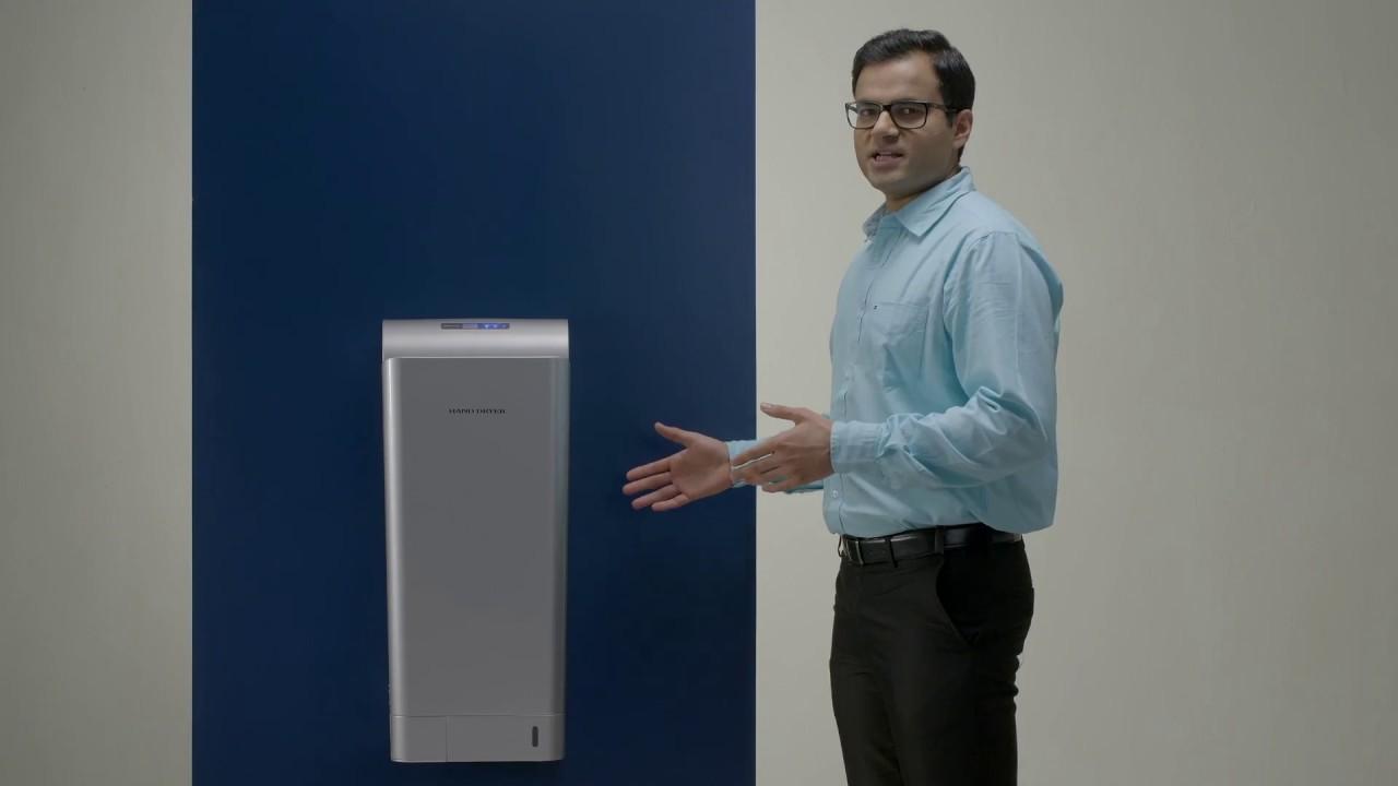 Jet Hand Dryer ASH MJ3 - Askon Hand Dryers - 95% savings vs paper towels