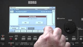 Korg Pa600 Video Manual -- Part 7: Global, Media, and Updates