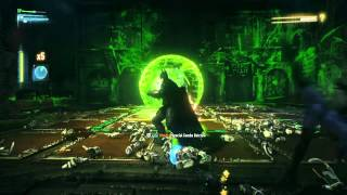 BATMAN™: ARKHAM KNIGHT Riddler battle