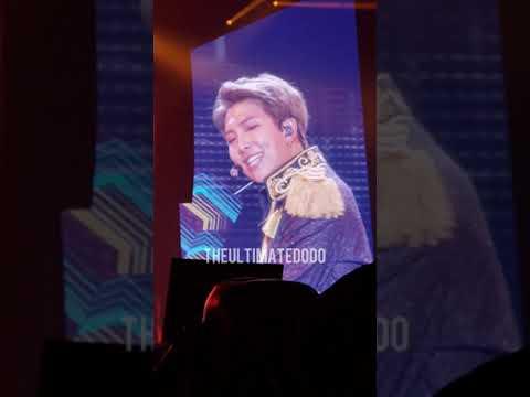 180922 Idol @ BTS 방탄소년단 Love Yourself Tour in Hamilton Fancam 직캠