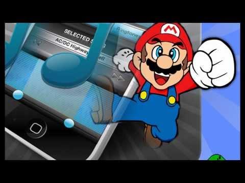 super mario's ringtone for Iphone