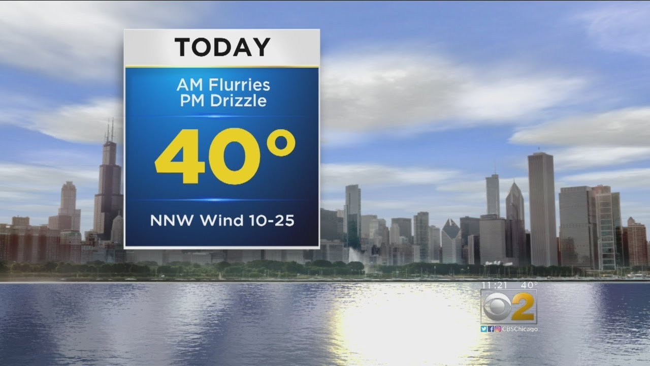 CBS 2 Weather Watch (11AM, March 12, 2018)