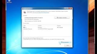 How to do hard drive maintenance on windows 7
