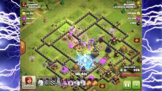 Como Hacer 3 Estrellas con Lanzarrocas (2a parte)!!! Clash Of Clans - [ALGAME]