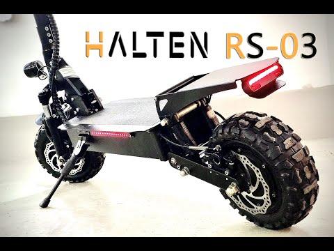 Электросамокат HALTEN RS-03 2020 года - распаковка и обзор.